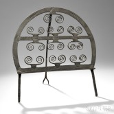 Wrought Iron Standing Broiler