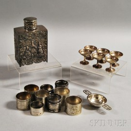 Group of Silver and Silver-plated Table Articles
