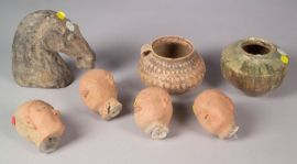 Seven Pieces of Early Pottery
