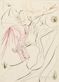 Salvador Dalí (Spanish, 1904-1989)      Decameron  /Portfolio of Ten Prints