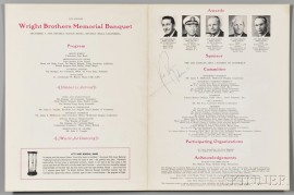 Armstrong, Neil (1930-2012) Signed Program, Kitty Hawk to Tranquility.