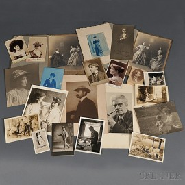 MacKaye, Percy (1875-1956) An Archive Containing Assorted Photographs and Other Related Material.