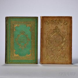 Poe, Edgar Allan (1809-1849) Two Titles: The Gift   [and] The Poetical Works.