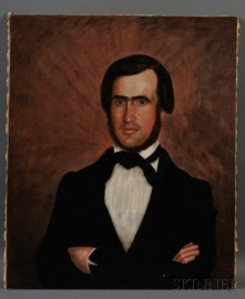 Roswell Tenny Smith (New Hampshire, 1825-1901) Six Portraits of Three Generations of the Hutchinson/Loveland Families of Norwich, Vermo