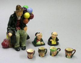 Seven Assorted Royal Doulton Items