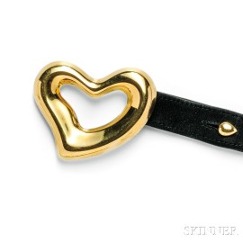 "18kt Gold ""Open Heart"" Belt, Elsa Peretti, Tiffany & Co."