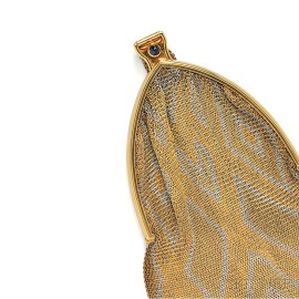 18kt Gold Mesh Purse
