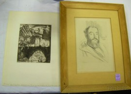 Lot of Two Prints