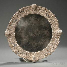 Silver-plate Tray