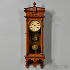 Waterbury Oak Wall Clock