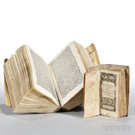 Petrarch (1304-1374) Two Early Editions.