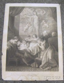 Engraving The Triumph of Virtue