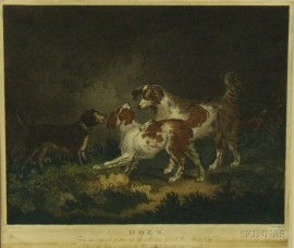 After George Morland, Dogs