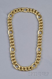 14kt Gold Curb-link Chain