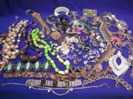 Assortment of Mid-to-Late 20th Century Costume and Designer Jewelry