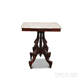 Renaissance Revival Marble-top Table