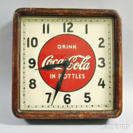 Selected Devices Co. Coca-Cola Wall Clock