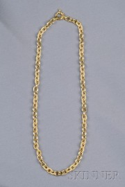 14kt Gold Trace Link Chain