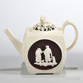 Turner Stoneware Teapot and Cover