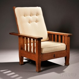 Roycroft Arts & Crafts Morris Chair
