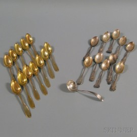 Small Group of Silver Spoons