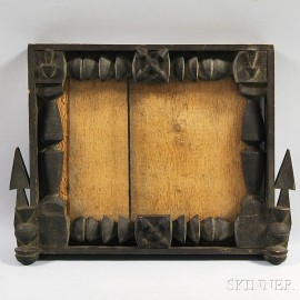 Folk Art Carved Frame