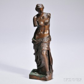 Bronze Sculpture of the Venus de Milo