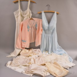 Group of Vintage and Antique Undergarments