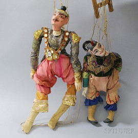 Two Puppets