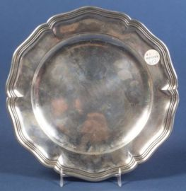 Danish Silver Charger