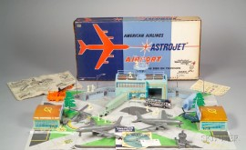 """Marx """"American Airlines Astro Jet Airport Set"""""""