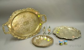 Lot of Sterling and Silver Plated Articles