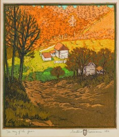 Gustave Baumann (German/American, 1881-1971)      The Way of the Year