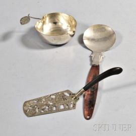Three Pieces of Mexican Silver-plate