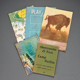 Five Abercrombie & Fitch Catalogues 1904-1954