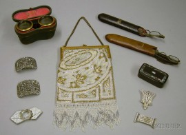 Group of Assorted Accessories and Costume Jewelry Items
