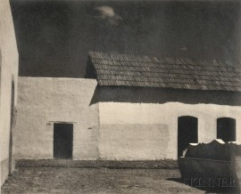 Paul Strand (American, 1890-1976)      Plaza, State of Puebla