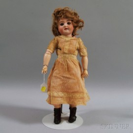 Simon & Halbig Bisque Socket Head Doll