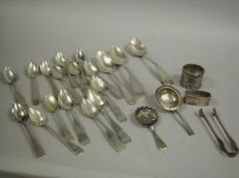 Sixteen Coin Silver Spoons