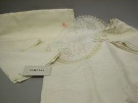 Group of Assorted Table Linens and Textiles