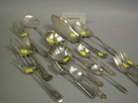 Group of Sterling and Plated Flatware