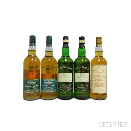 Mixed Aberfeldy, 5 750ml bottles