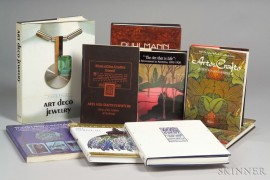 Nine Art Nouveau, Arts & Crafts, and Art Deco Reference Books