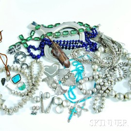 Group of Miscellaneous Jewelry and Accessories