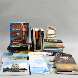 Forty Scrimshaw and Whaling-related Reference Books and Catalogs