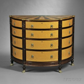 Federal-style Commode Chest
