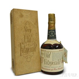 Very Old Fitzgerald 8 Years Old 1952, 1 750ml bottle (oc)