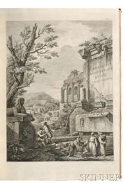 Adam, Robert (1728-1792) Ruins of the Diocletian Palace at Spalatro in Dalmatia