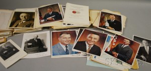 Sold for: $28,440 - Box of Assorted Autographs