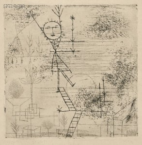 Sold for: $59,250 - Paul Klee (Swiss, 1879-1940)      Höhe!